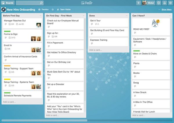 Trello - 10 or 20 Free Boards per Team